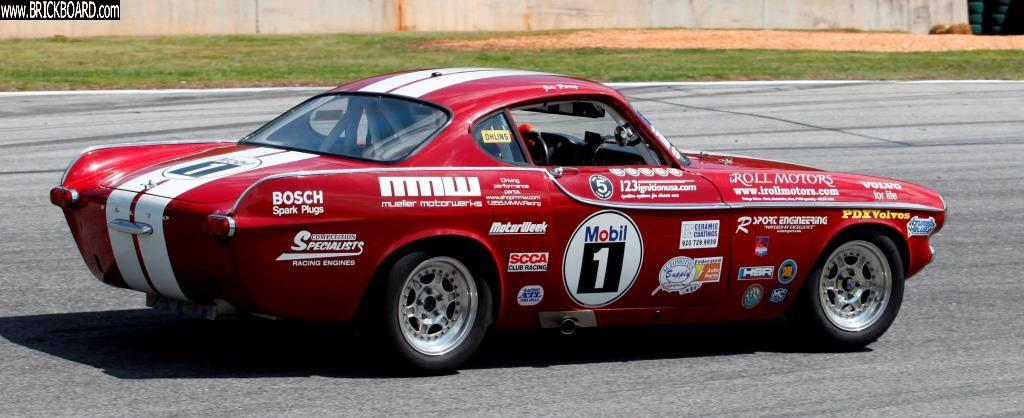 Volvo 1800 -- Jim Perry P1800 race car