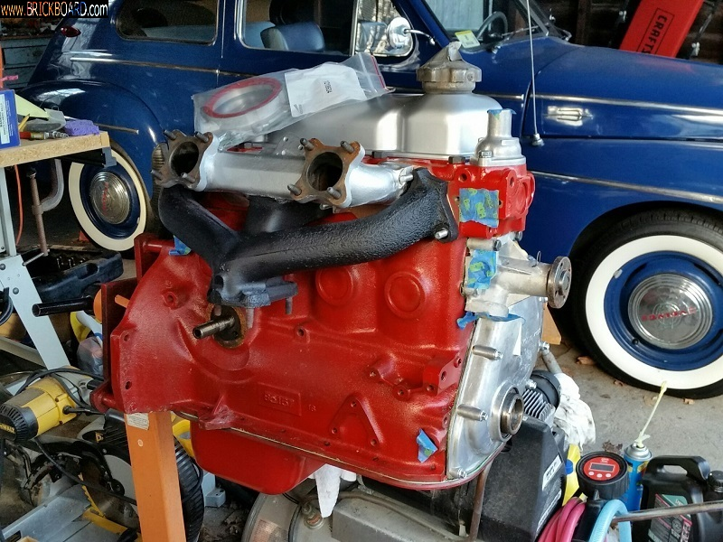 Volvo 444-544 -- PV444 New engine - smaller pic