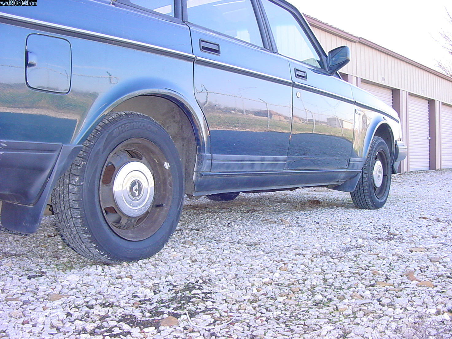 Volvo  -- Steelies and Stainless Hubcaps 1992 Volvo 240 GL
