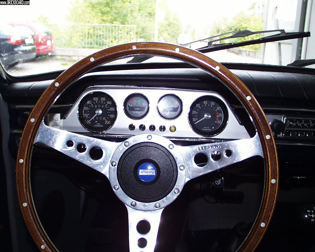 Volvo 444-544 -- Gauges 544
