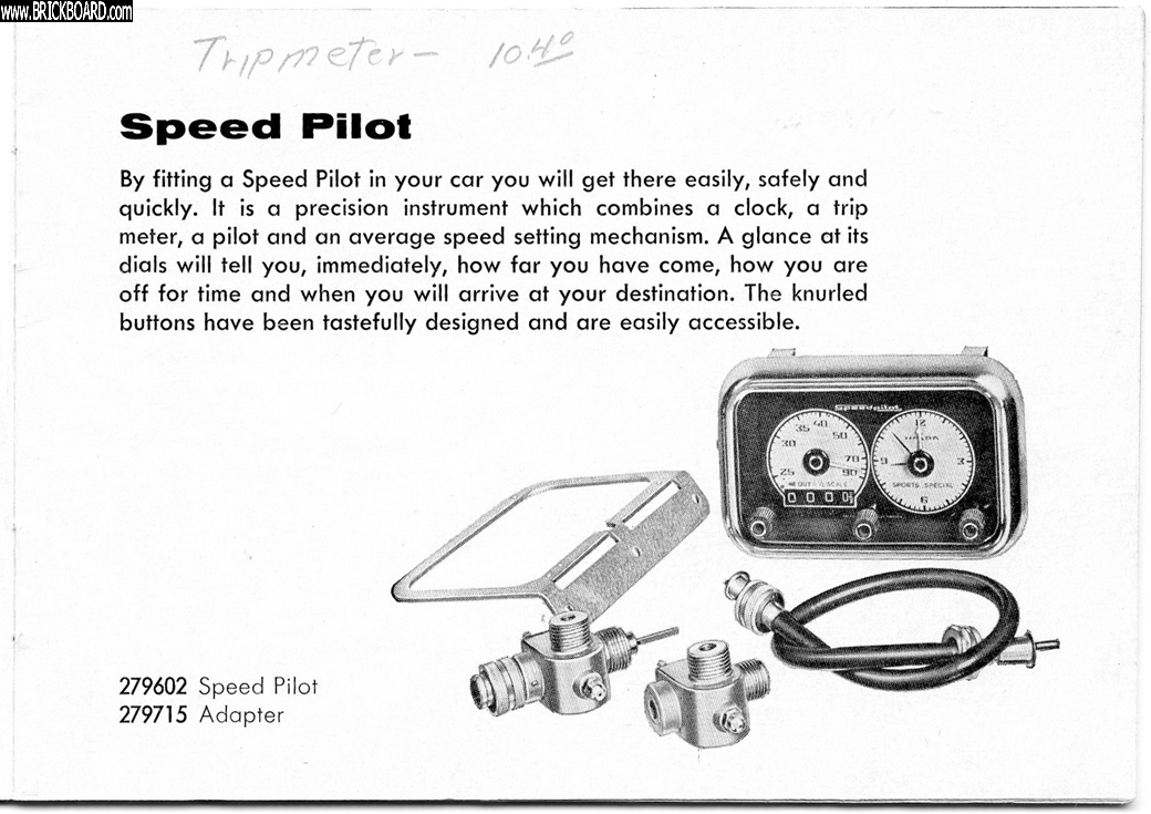 Volvo 120-130 -- Speed Pilot